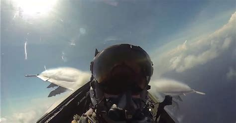Place Yourself In The Cockpit Of A Fighter Plane Flying