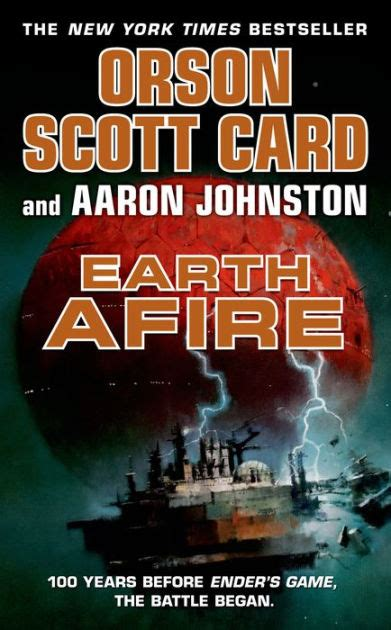 Earth Afire (First Formic War Series #2) by Orson Scott