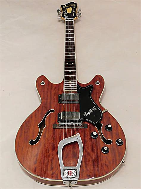 Hagstrom Viking V-1N Hollow Body Electric Guitar Made in