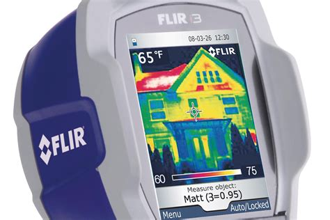 Imperfections Can't Hide: Flir i3 Thermal Imaging Camera