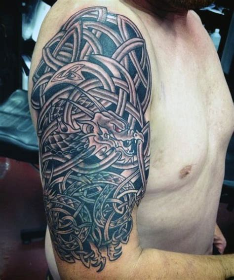 40 Celtic Tattoos For Men - Cool Knots And Complex Curves
