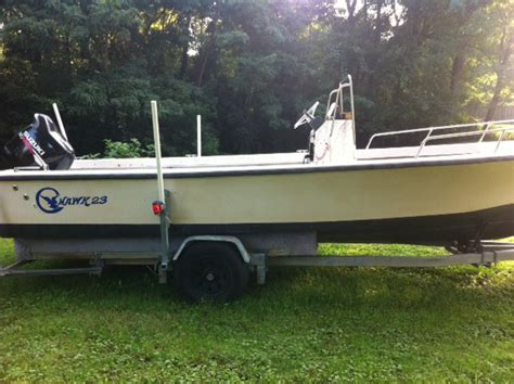 C Hawk 23 center console - The Hull Truth - Boating and