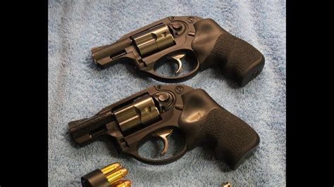 REVIEW - Ruger LCR 357 & 38 Special +P - YouTube