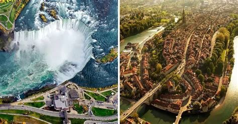 30 Amazing Aerial Views Of Popular Places That Will Change