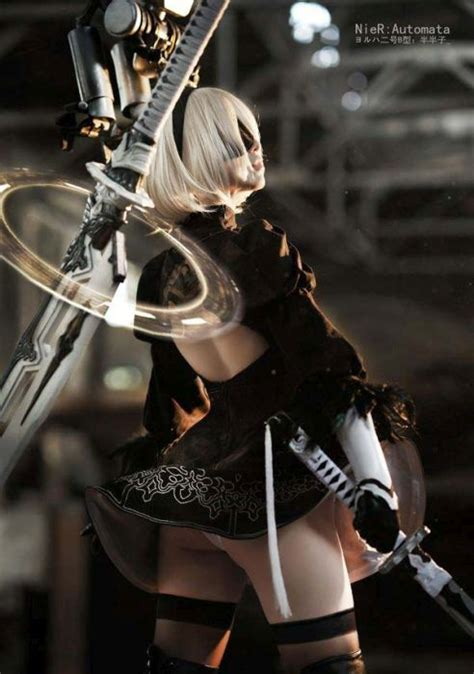 Stunning Nier: Automata Cosplay   Others