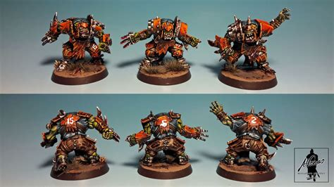 Orcs Team - Blood Bowl by Jose_A_Alfonso · Putty&Paint