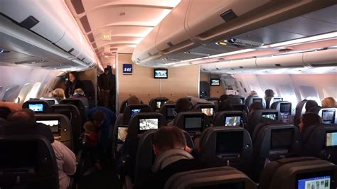 New Cabin! SAS Scandinavian Airlines Airbus A330-300