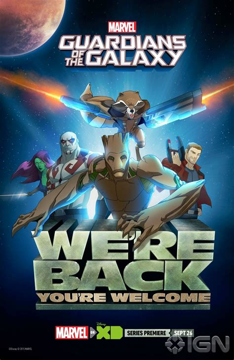 New Agents of SHIELD and Animated Guardians of the Galaxy