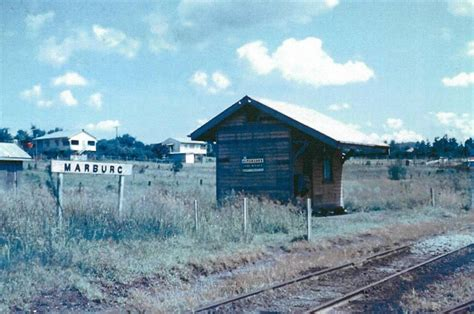 Where is the old Marburg railway station? - Ipswich First
