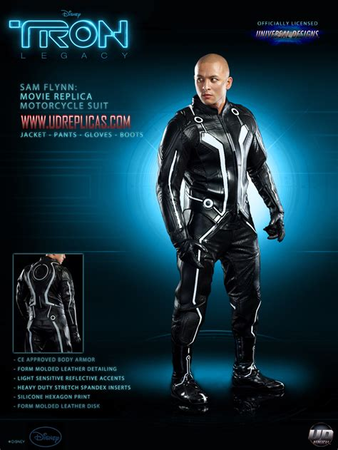 Tron Legacy Motorcycle Suits Now Available - autoevolution