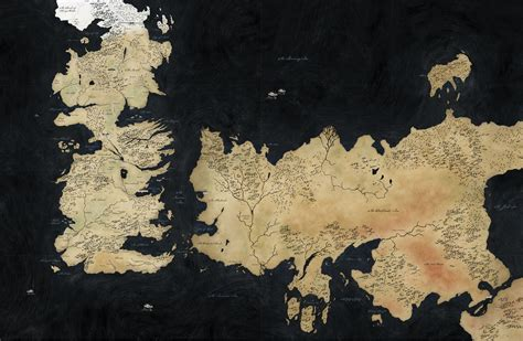 World Map (HBO Game Of Thrones) - A Wiki of Ice and Fire
