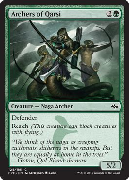 Archers of Qarsi from Fate Reforged Spoiler
