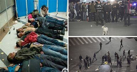 Kunming train station knife attack leaves 33 dead and more