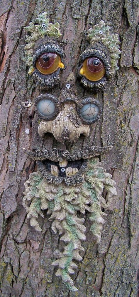 1000+ images about Tree faces on Pinterest | Gardens