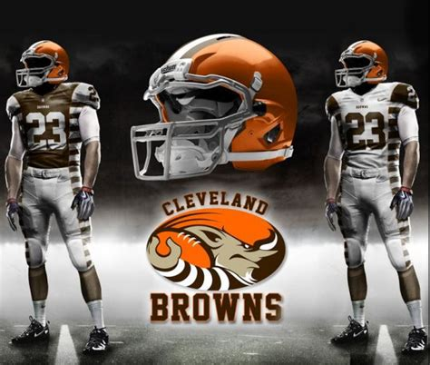Cleveland Browns to unveil 'cutting edge' new uniforms in 2015