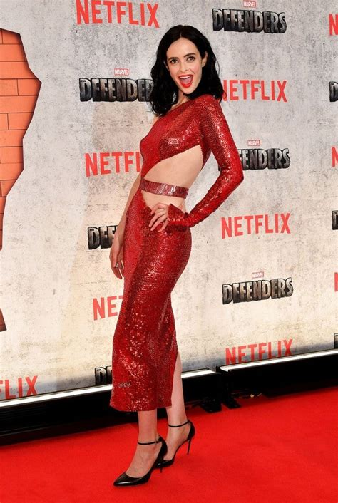 Krysten Ritter Looks Red Hot in Two Sizzling Dresses at