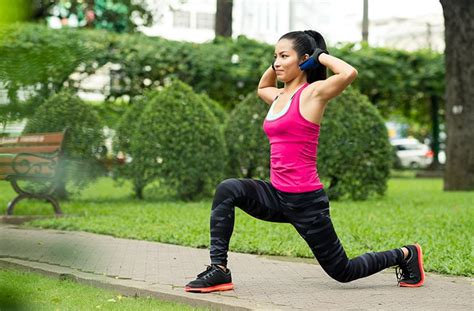 Lunges Exercise - Best 30 Day Lunge Challenge for Women