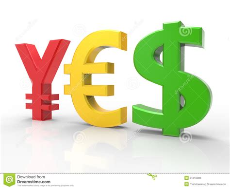 Currency Symbol Royalty Free Stock Image - Image: 31310386