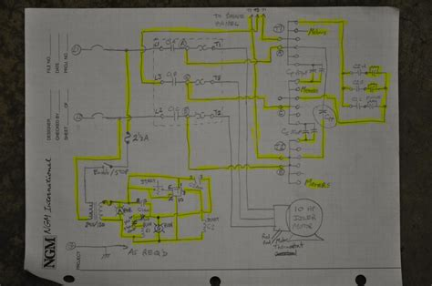 Rotary Phase Converter Won't Start, Help requested please