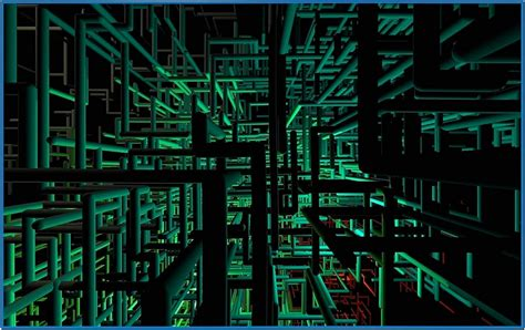 3d pipes screensaver windows 8 - Download free