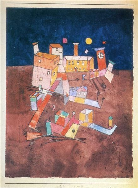 Part of G, 1927 - Paul Klee - WikiArt