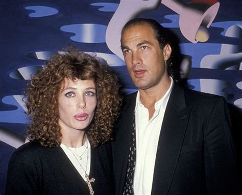 Steven Seagal's ex-wife, Kelly LeBrock, says she was