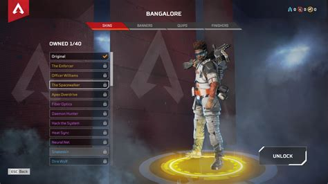 Apex Legends Character Skins -- Every Gold-Tier Legendary