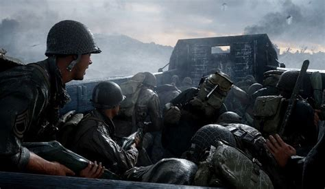 Raw Gameplay From Call of Duty: WW2 Shows Brutal Nazi Camp