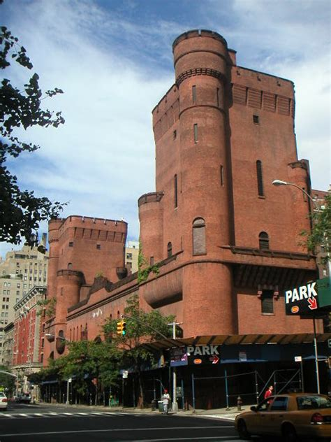 New York Architecture Images- Squadron A Armory Façade